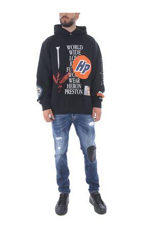 Heron Preston collage cotton sweatshirt HERON PRESTON | 10000005 | HMBB011F20JER0011001