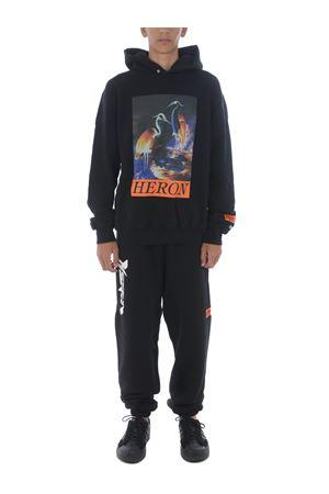 Heron Preston heron times cotton sweatshirt HERON PRESTON | 10000005 | HMBB011F20JER0021020
