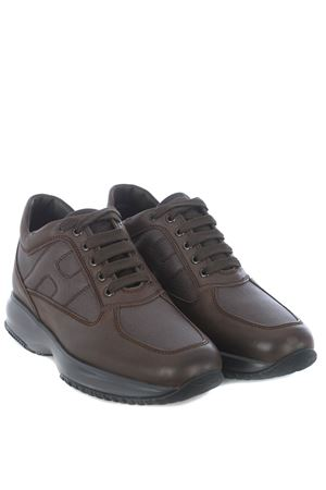 Hogan Interactive sneakers in shaded leather HOGAN | 5032245 | HXM00N00E10O8P268P