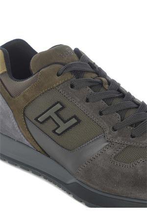 Sneakers Hogan H321 in pelle scamosciata e nylon HOGAN | 5032245 | HXM3210Y860OHT829Z