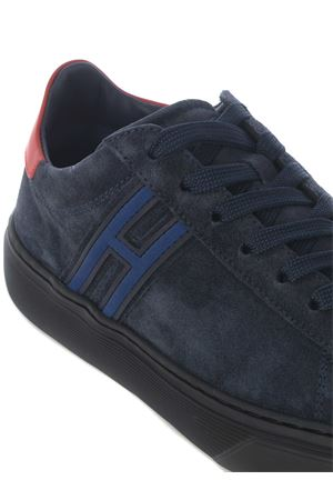 Hogan H365 sneakers in suede HOGAN | 5032245 | HXM3650J301NZ8206N