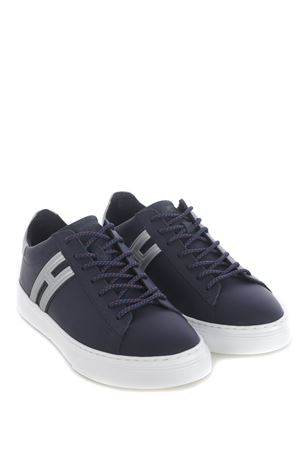 Hogan H365 sneakers in rubberized leather HOGAN | 5032245 | HXM3650J310OA8123F