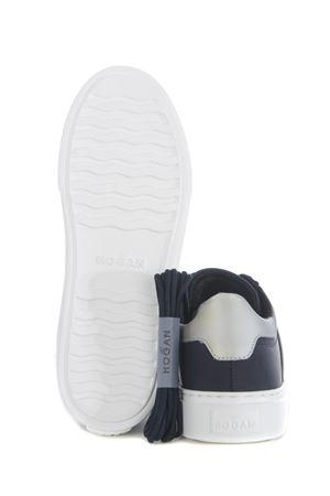 Hogan H365 sneakers in rubberized leather HOGAN | 5032245 | HXM3650J310OA8123F