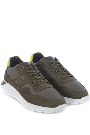 Hogan Interactive3 sneakers in leather and nylon HOGAN | 5032245 | HXM3710AJ15OCY619U
