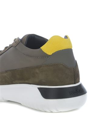 Hogan Interactive3 sneakers in leather and nylon HOGAN | 5032245 | HXM3710AJ15OCY619U