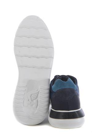 Hogan Interactive3 sneakers in leather and nylon HOGAN | 5032245 | HXM3710AJ15OCZ618R