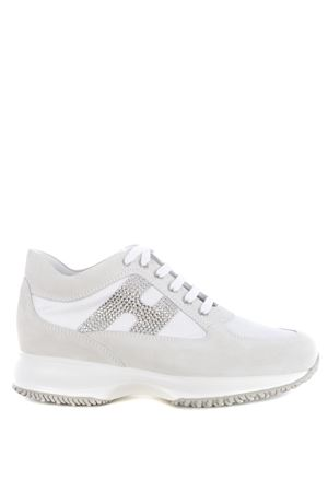 Hogan Interactive sneakers H strass in suede and nylon HOGAN | 5032245 | HXW00N02011FIKB001