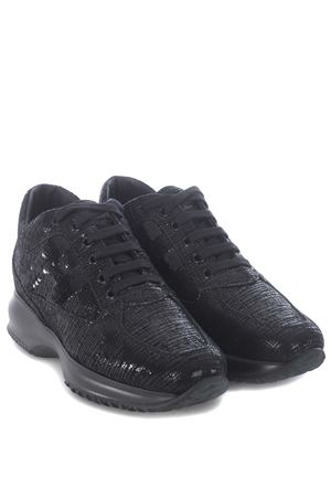 Hogan Interactive sneakers in laminated leather HOGAN | 5032245 | HXW00N05640O4HB999