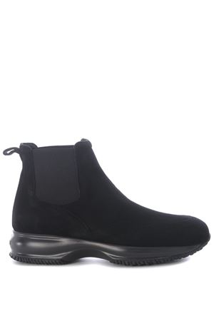 Hogan interactive suede ankle boot HOGAN | 5032245 | HXW00N0J090CR0B999