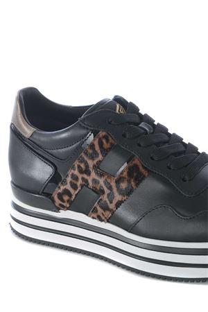 Sneakers donna Midi H222 Hogan in pelle HOGAN | 5032245 | HXW4830CB80O370PR3