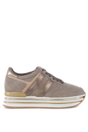 Sneakers Midi Platform Hogan H222 in suede HOGAN | 5032245 | HXW4830CB80Q250QYG