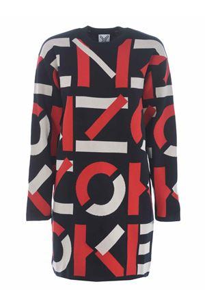 Kenzo monogram dress in cotton and nylon blend KENZO | 11 | FA62RO5313SC21