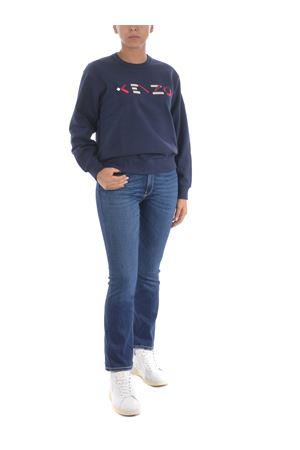 Kenzo logo cotton sweatshirt KENZO | 10000005 | FA62SW8204MO76