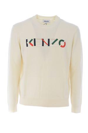 Kenzo logo jumper sweater in wool KENZO | 7 | FA65PU5413LA03