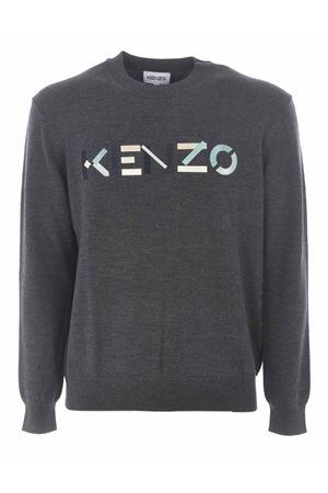 Kenzo logo jumper sweater in wool KENZO | 7 | FA65PU5413LA97