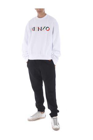 Kenzo logo cotton sweatshirt KENZO | 10000005 | FA65SW0044MO01