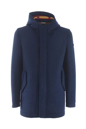 Manuel Ritz coat in felt-effect woolen cloth MANUEL RITZ | 18 | H8317203737-88