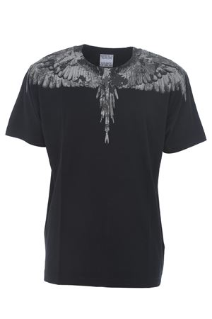 Marcelo Burlon County of Milan camou wings basic cotton t-shirt MARCELO BURLON | 8 | CMAA018E20JER0021007