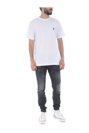 Marcelo Burlon County of Milan cross basic t-shirt in cotton MARCELO BURLON | 8 | CMAA018E20JER0160110