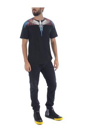 Marcelo Burlon County of Milan wings basic cotton t-shirt MARCELO BURLON | 8 | CMAA018F20JER0011028