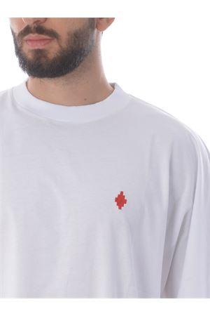 T-shirt Marcelo Burlon County of Milan county script over MARCELO BURLON | 8 | CMAA066E20JER0020125