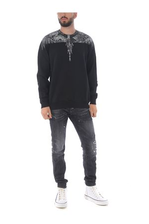 Marcelo Burlon County of Milan camou wings regular cotton sweatshirt MARCELO BURLON | 10000005 | CMBA009E20FLE0021007