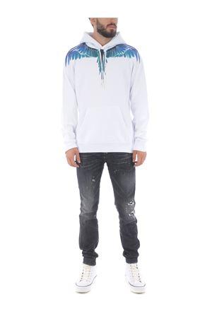 Marcelo Burlon County of Milan wings regular cotton sweatshirt MARCELO BURLON | 10000005 | CMBB007E20FLE0010143