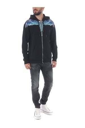 Marcelo Burlon County of Milan wings regular cotton sweatshirt MARCELO BURLON | 10000005 | CMBE001E20FLE0011043