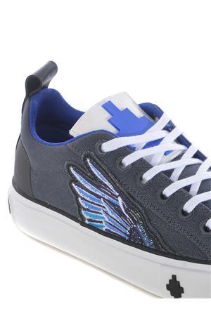 Low sneakers Marcelo Burlon County of Milan side wings low vulcanic in canvas MARCELO BURLON | 5032245 | CMIA084E20FAB0010743