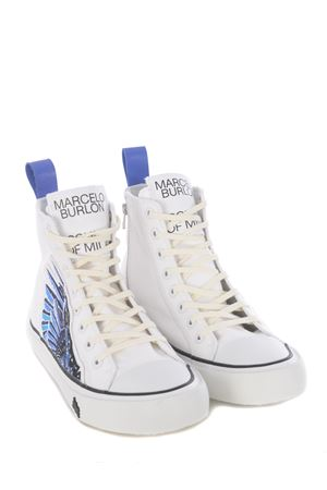 Sneakers high Marcelo Burlon County of Milan side wings vulcanic MARCELO BURLON | 5032245 | CMIA085E20FAB0010143