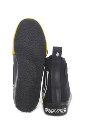 Marcelo Burlon County of Milan XXI high vulcanized high sneakers in canvas MARCELO BURLON | 5032245 | CMIA085F20FAB0011001