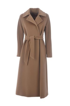 Max Mara Studio Cielo coat in pure virgin wool beaver MAX MARA STUDIO | 17 | 60160603600002