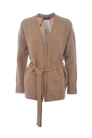 Max Mara Studio Alain cardigan in wool and alpaca stockinette stitch. MAX MARA STUDIO | 850887746 | 63460703600004