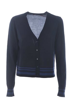 Max Mara Studio eiffel cardigan in pure virgin wool MAX MARA STUDIO | 850887746 | 634607096001