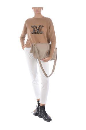 Max Mara plagecm bag in hammered leather MAX MARA | 31 | 45163207600250-002