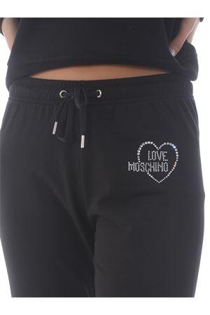 Pantaloni jogging Love Moschino in cotone stretch MOSCHINO LOVE | 9 | W1543E2204-C74