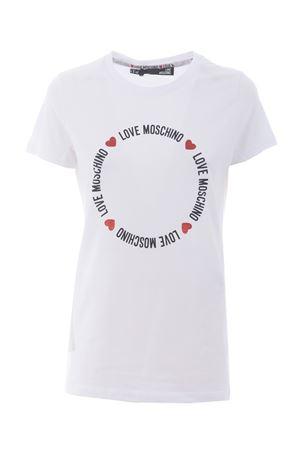 T-Shirt Love Moschino in cotone stretch MOSCHINO LOVE | 8 | W4F73E1951-A00
