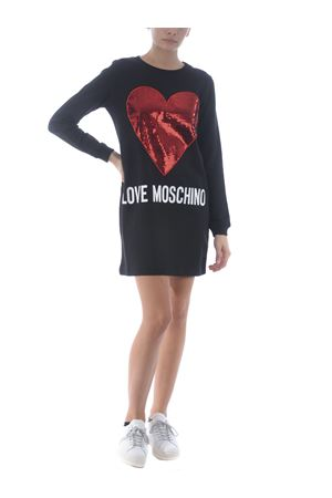 Love Moschino dress in cotton MOSCHINO LOVE   11   W5847M4055-4049