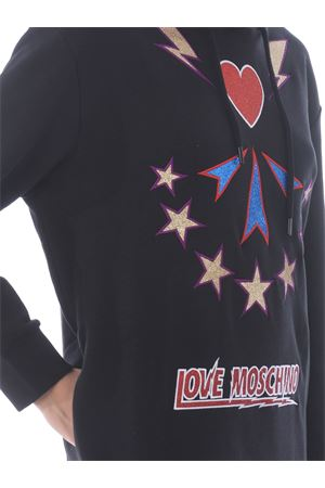 Abito in felpa Love Moschino in cotone MOSCHINO LOVE | 11 | W5B24M4055-4048
