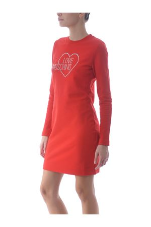 Abito/Felpa Love moschino in cotone stretch