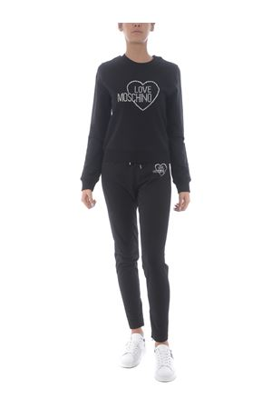 Love Moschino sweatshirt in stretch cotton MOSCHINO LOVE | 10000005 | W630407E2204-C74