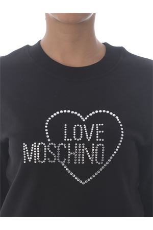 Love Moschino sweatshirt in stretch cotton