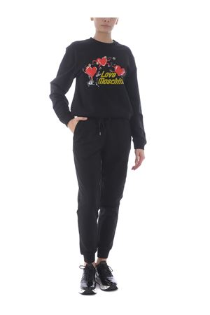 Love Moschino sweatshirt in stretch cotton MOSCHINO LOVE | 10000005 | W6306E2182-C74