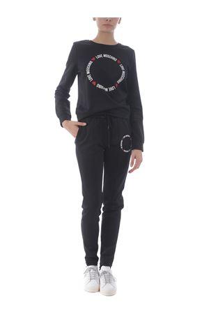 Love Moschino sweatshirt in stretch viscose blend MOSCHINO LOVE | 10000005 | W6322E2168-C74