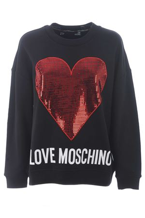 Love Moschino cotton sweatshirt MOSCHINO LOVE | 10000005 | W638302M4055-4049