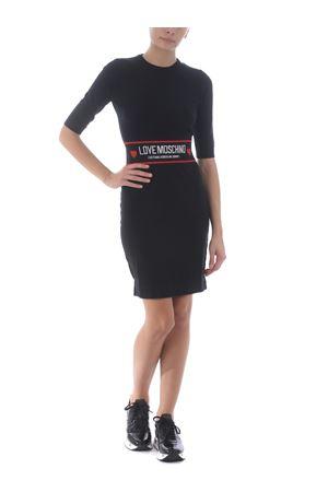 Love Moschino dress in stretch wool MOSCHINO LOVE | 11 | WS15RX1370-C74