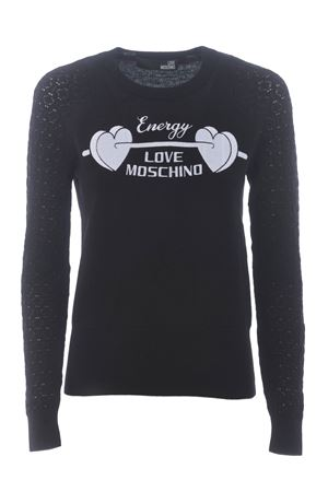Love Moschino sweater in wool and cashmere blend MOSCHINO LOVE | 7 | WS32GX0683-C74