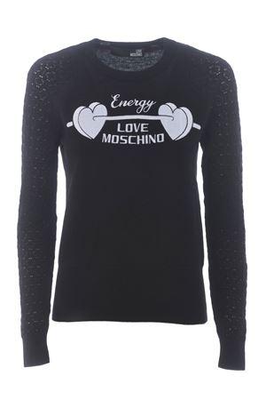 Maglia Love Moschino in misto lana e cashmere MOSCHINO LOVE | 7 | WS32GX0683-C74