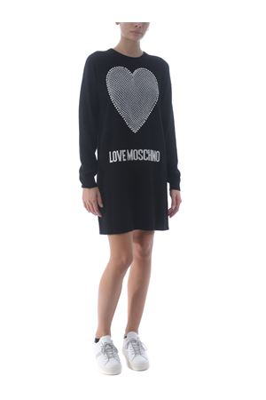 Love Moschino dress in wool and cashmere blend MOSCHINO LOVE | 11 | WS37R11X1264-C74