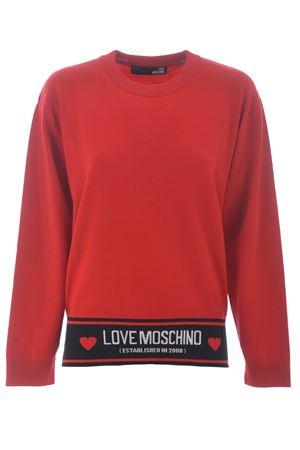 Maglia Love Moschino in misto lana MOSCHINO LOVE | 7 | WS54GX1370-O86